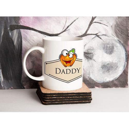 Personalised Halloween Pumpkin Mug V2