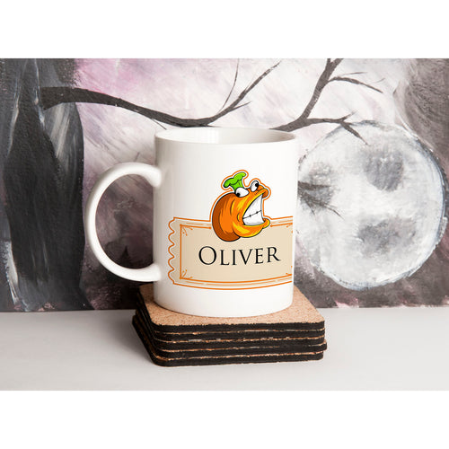 Personalised Halloween Pumpkin Mug V4