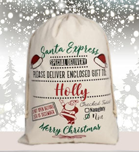 Personalised Santa Sack V2