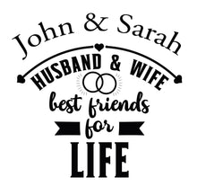 Husband and Wife Best Friends T-Shirt