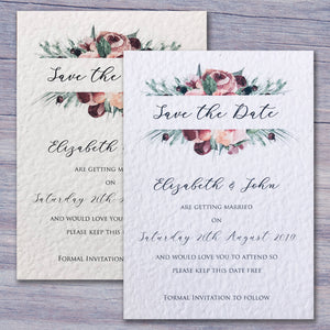 ISABELLE Save the Date cards