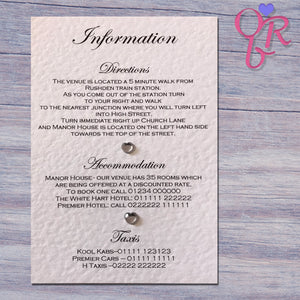CHLOE Information Card
