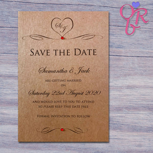 ALISSA Save the Date Cards