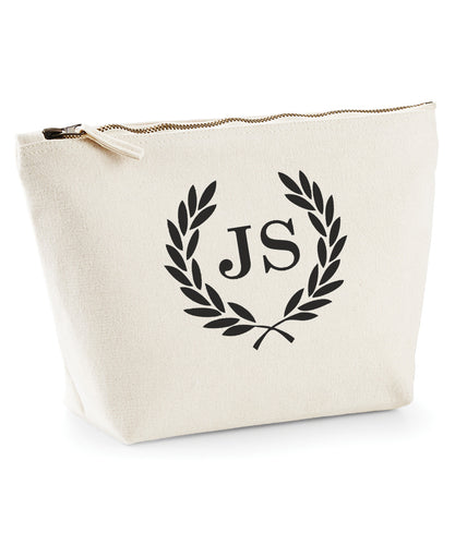 Copy of Personalised Canvas Make Up Bag *Any Initials* V4