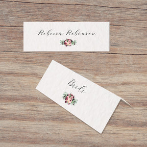 ISABELLE Place Card