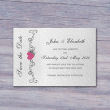 JENNIFER Save the Date Cards - Pearl