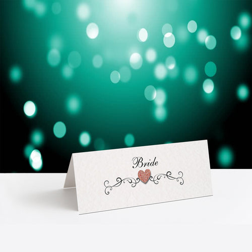 JENNIFER Place Cards - Glitter