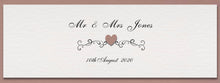 JENNIFER DIY Table Plan Cards - Pearlescent