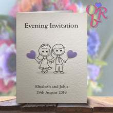 JESSICA Folded Invitation - Pearl