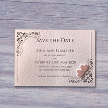 KATIE Save the Date Cards - Pearl