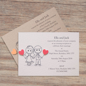 JESSICA Day or Evening Invites - Pearl