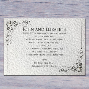 MARIA Day or Evening Invites