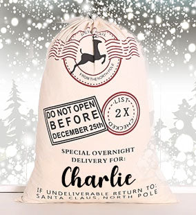 Personalised Santa Sack V1