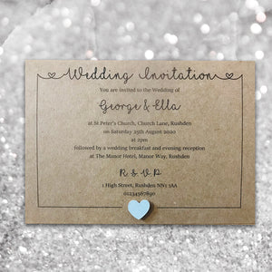 LOLA Day or Evening Invites - Pearl