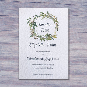 LEYLA Save the Date cards