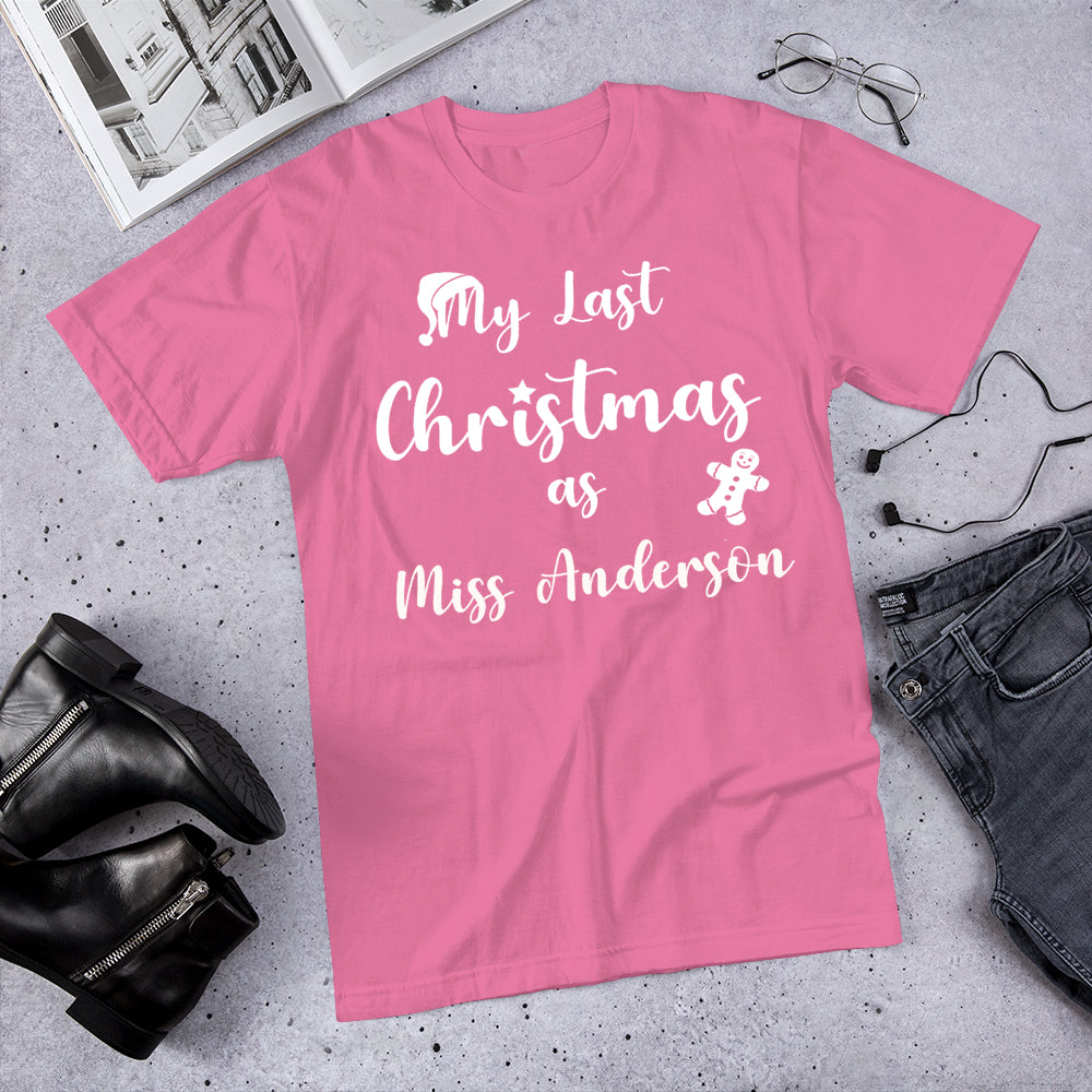 Last Christmas as a Miss... T-Shirt V2