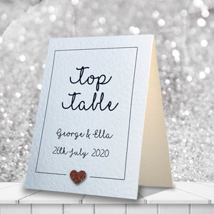 LOLA Table Numbers - Glitter