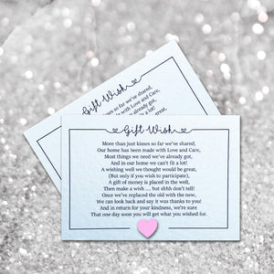 LOLA Money Poem Card - Pearl