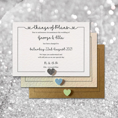 LOLA Amendment cards - Glitter