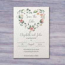 MARTHA Save the Date cards
