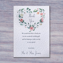 MARTHA Thank you Notes