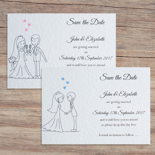 MIA Save the Date Cards