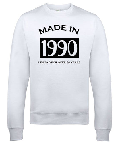 Made in 1990 sweater