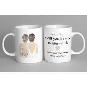 Be My Bridesmaid Mug