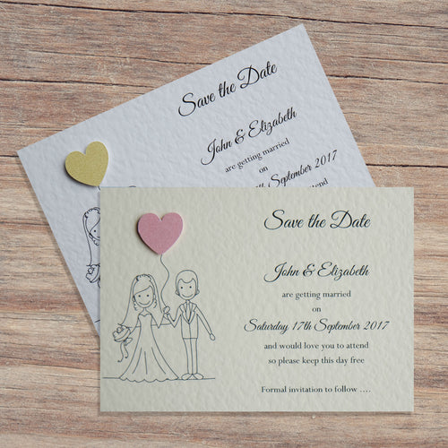 MILLIE Save the Date Cards - Pearl