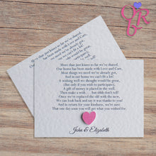 MILLIE Money Poem Cards - Pearl