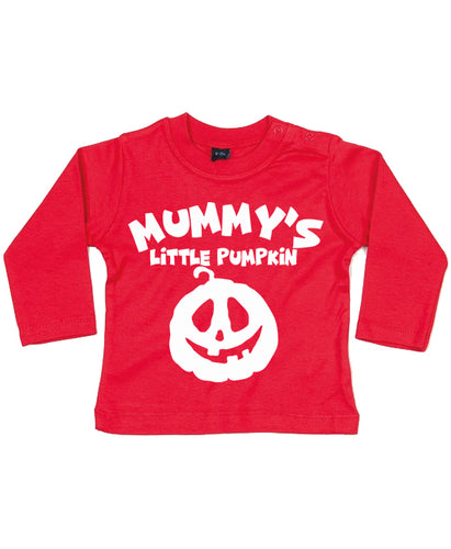 Mummy's Little Pumpkin Long sleeve top.