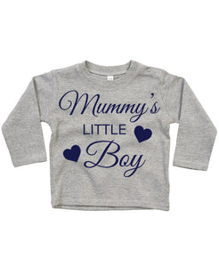 Mummys Little Boy Toddlers Long sleeve top.