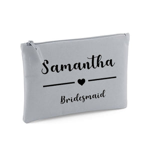 Bridal Party Make Up Bag