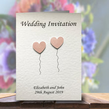 OLIVIA Folded Invitation - Pearl