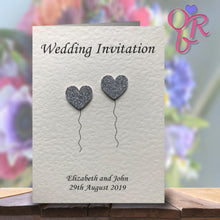 OLIVIA Folded Invitation - Glitter