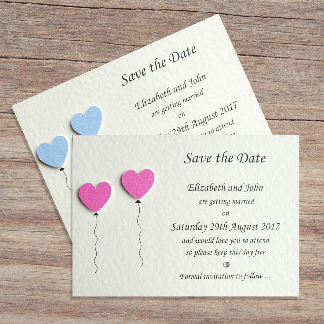 OLIVIA Save the Date Cards - Pearl