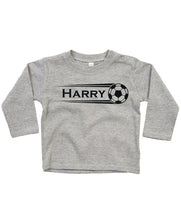 Personalised Football Longsleeve Top