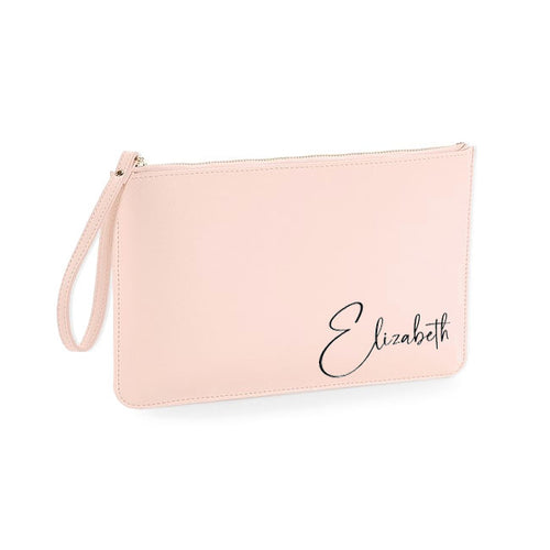 Clutch / Accessory Bag With Name