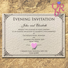 CHARLOTTE Day or Evening Invites - Pearl