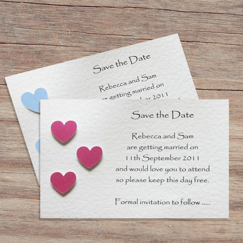 SIENNA Save the Date Cards - Pearl