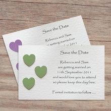 SIENNA Save the Date Cards - Glitter