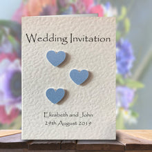 SIENNA Folded Invitation - Pearl