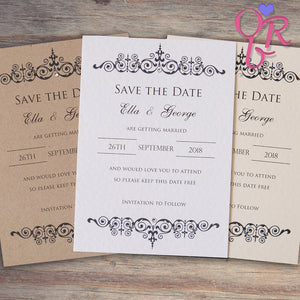 TILLY Save the Date Cards
