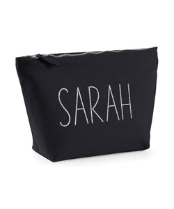 Personalised Canvas Make Up Bag *Any Name* V3