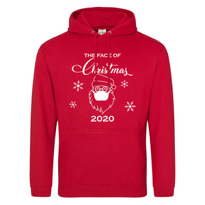 The Face of Christmas 2020 Mens or Ladies Hoodie