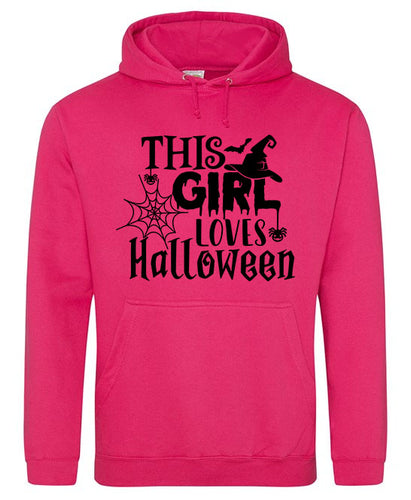 This Girl Loves Halloween Hoodie