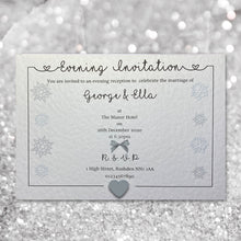 LOLA Day or Evening Christmas Invites - Pearl