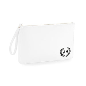 Clutch / Accessory Bag With Monogram & Initials