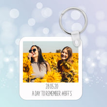 Personalised Memory Photo Keyring