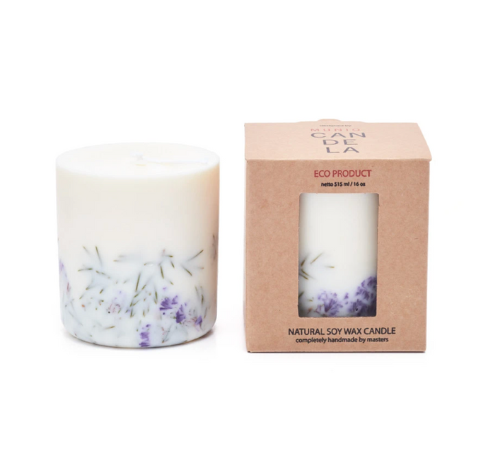 Eco scented candle (large)